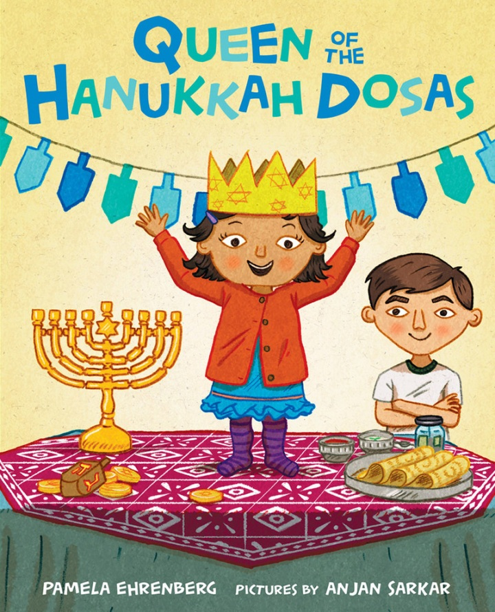 Queen of the Hanukkah Dosas Cover 2